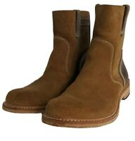 Timberland Boot Company Leather/Suede Pull-On Boot Men Sz 9M Made in USA