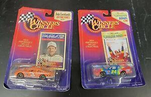 Kenner Winner's Circle Jeff Gordon & Dale Earnhardt 1997 Stock Car Series 1:64