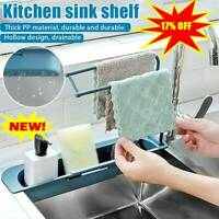 Telescopic Sink Rack Holder Expandable Storage Drain Basket for Home Kitchen hot