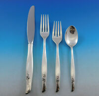 Sea Rose by Gorham Sterling Silver Flatware Set 12 Service 53 pieces Modern
