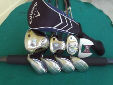 Ladies Callaway X Big Bertha GES Irons Driver Woods Complete Golf Club Set Women