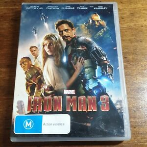 Iron Man 3 DVD Marvel  R4 FREE POST
