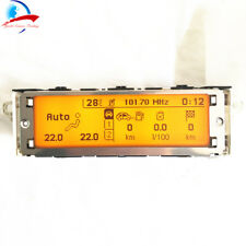 Car Multifuntion display RD4 screen yellow 12 pin For Peugeot 307 407 408 c5