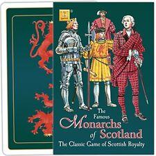 Monarchs of Scotland carte à jouer game ( HPC )