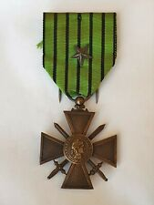 France: Ww2 French 1939-1940 Vichy War Cross