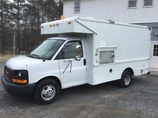 2005 Chevy Box cube Truck 3500 service utility van dually generator 65k miles