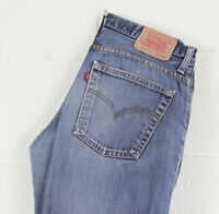 RARE Vintage Levi's 516 04 Blue Bootcut Flare Men's Jeans W34 L31