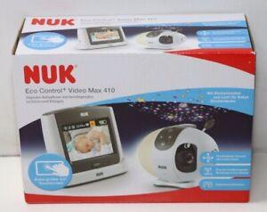 NUK Eco Control+ Video Max 410, Babyphone (TEIL DFEFEKT)