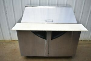 """TURBO AIR TST-48SD-18 48"""" REFRIGERATED PREP TABLE"""