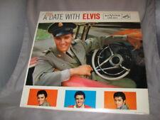 ELVIS PRESLEY-A DATE WITH ELVIS Album-RCA  #LPM-2011-Non Gatefold Calender[IN-4]