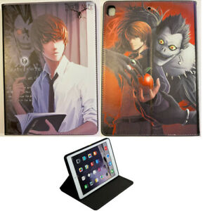 For iPad Pro 9.7 - iPad Air 1-2 - iPad 9.7 Death Note Anime Kira L Case Cover