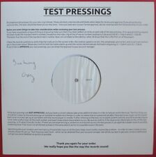 "ALAIN BASHUNG - RARE TEST-PRESSING LP ""COVERS"""
