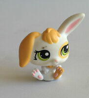 Littlest Pet Shop - RARE - Rabbit - Green Eyes - No 1417 - #1417