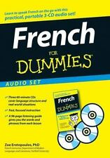 French For Dummies Learn to Speak Basic Easy French Language Beginner Audio CD