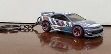 Hot Wheels 2001 Acura Integra Gsr Keychain Speed Blur Grey Purple Pearl
