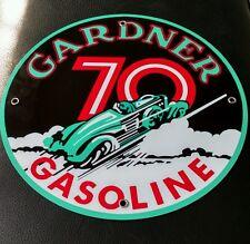 Gardner Gas Oil gasoline sign