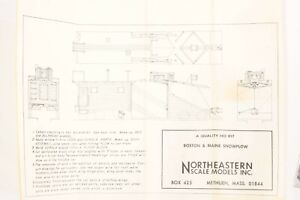 Build something cool!  HO Boston & Maine Northeastern Models Craftsman Plow Kit