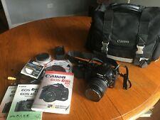 Canon EOS Digital Rebel XTi / EOS 400D 10.1MP Digital SLR Camera - Black...