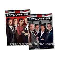 Law and Order UK: British TV Series Complete Seasons 1 & 2 Box / DVD Set(s) NEW!
