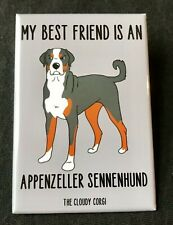 Appenzeller Sennenhund Magnet Handmade Dog Gifts Refrigerator and Locker Decor