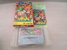 >> SUPER GENJIN BONK PC KID 1 SFC SUPER FAMICOM JAPAN IMPORT COMPLETE IN BOX! <<