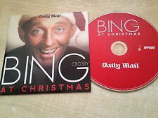 BING CROSBY AT CHRISTMAS MUSIC CD 12 Tracks Classic Xmas Songs Dinner Album