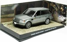Range Rover Sport QUANTUM OF SOLACE 1:43 007 James Bond coche diorama diecast