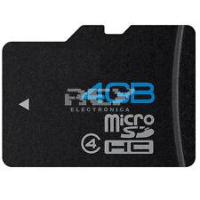 Tarjeta Memoria Micro SD SDHC 4GB Card  Nueva v50