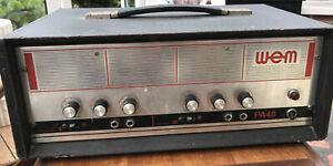 WEM PA40 Amplifier