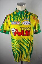 SMS Santini Team Polti Bike cycling jersey maglia Rad Trikot XXXL BW 57cm D-02