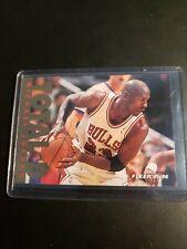 1995-96 Fleer Michael Jordan Total D Gold Foil Insert