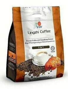 1 Pack DXN Lingzhi Coffee 3 in 1 Ganoderma Reishi Instant Classic Cafe Express
