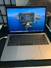 "Apple MacBook Pro 2017 Silver 13"" Touch Bar 256GB SSD 8GB RAM 3.1GHz"