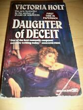 Daughter of Deceit by Victoria Holt (1992, Paperback)