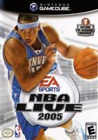 NBA Live 2005 Nintendo Gamecube Game Complete