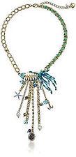 Betsey Johnson Shell Shocked Fish Skeleton Tassle Necklace NWT $58 *Authentic*