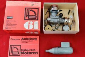 Graupner HB 61 wassergekühlter RC Nitromotor Methanolmotor 9,97 ccm mit OVP