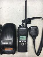 Motorola XTS2500 II 700 800mhz P25 Digital Radio H46UCF9PW6AN 500008-000488-2