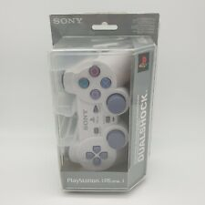 PS1 PSOne PlayStation Dualshock Light Grey Controller New & Sealed Year 2000 Mfg