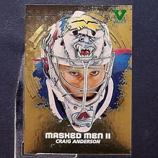 CRAIG ANDERSON  2009-10 Between The Pipes Masked Men II GOLD #MM41  1 of 30  FV