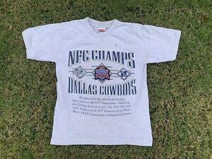 Vintage Dallas Cowboys T Shirt Single Stitch Nutmeg Mills 90s Team NFL M