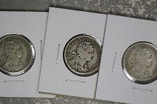 Three Portugal 50 Centavos Coins - 1927, 1929, 1930