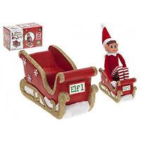 Elves Behaving Badly Elf VIP Single Sleigh Christmas Accessory