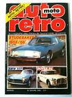 AUTO MOTO RETRO n°56 Studebaker 59/ BMW 507/ Rover P5