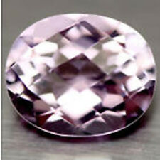 Genuine Rose D'France Amethyst Checkerboard Cut 12 x 10 x 7 MM Oval - 4.62 CT