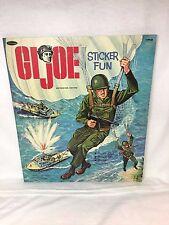 1965 GI Joe Sticker Fun Book Whitman Rare Vintage
