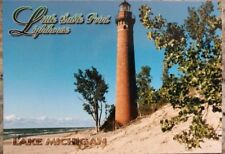 4x6 Unused Postcard - Little Sable Point Lighthouse - Michigan