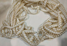 White and Gold Braid Trim 15 + Yards 001