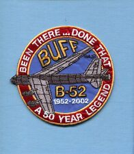 BOEING B-52 STRATOFORTRESS BUFF 1952 2002 USAF SAC BS Bomber Squadron Patch