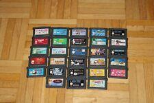28 Spiele für den Nintendo Game Boy Advance - Spiele Sammlung